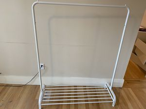 White clothing rack for Sale in US
