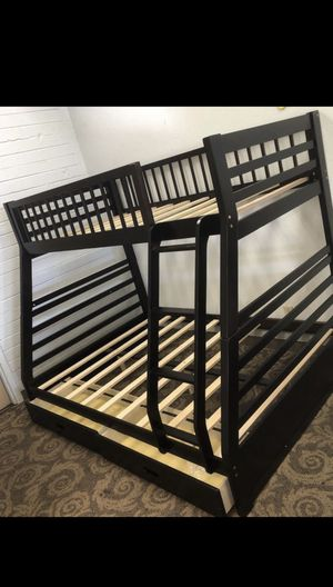 Bunk bed full/twin size bed frame brand new for Sale in Phoenix, AZ