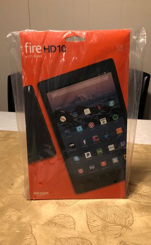 Amazon Fire Tablet HD10 with Alexa 32GB 1080p for Sale in Brooklyn, NY