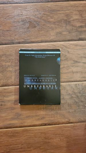 DVD - Unbreakable for Sale in San Clemente, CA