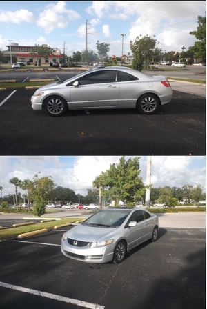 2009. Honda Civic. Coupe. Leather for Sale in Hollywood, FL