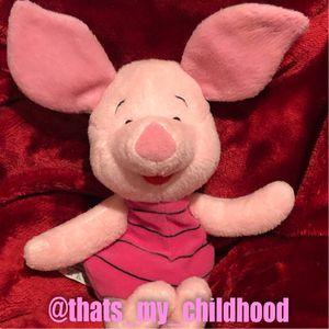 Disney Piglet plush stuffed animal doll toy beanie size for Sale in Phoenix, AZ