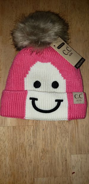 CC Kid's Pink Lined Beanie for Sale in Rockland, MA