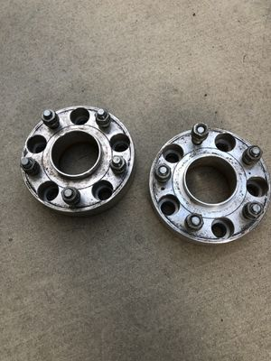 "Jeep JK 1.5"" Aluminum Wheel Spacer Pair 5x5 for Sale in Anaheim, CA"