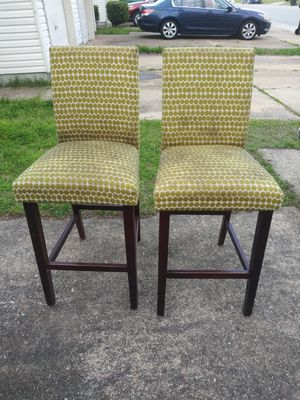 2 Bar Height Chairs (Project Chairs) for Sale in Virginia Beach, VA