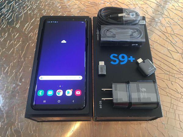 SAMSUNG GALAXY S9 PLUS 64GB FACTORY UNLOCKED EXCELLENT CONDITION!!!