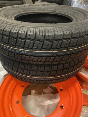 4x ST 175x80-13 trailer tires $180 cash no bargaining for Sale in Fontana, CA
