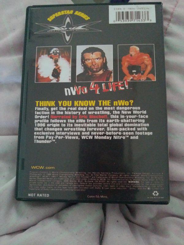 Wcw Superstar Series NWO 4 LIFE dvd