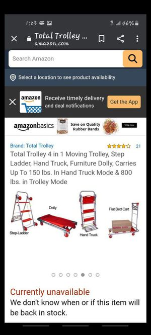 Total 4 in 1 trolley for Sale in Tacoma, WA