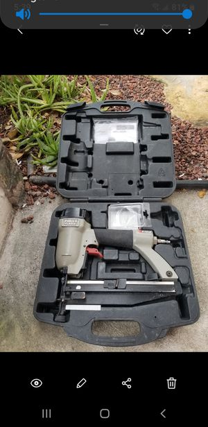 """Porter cable 16g 2 1/2"""" nailgun for Sale in Coral Springs, FL"""