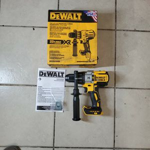 DEWALT 20-Volt MAX XR Lithium-Ion Cordless 1/2 in. Premium Brushless Hammer Drill (Tool-Only) for Sale in Phoenix, AZ