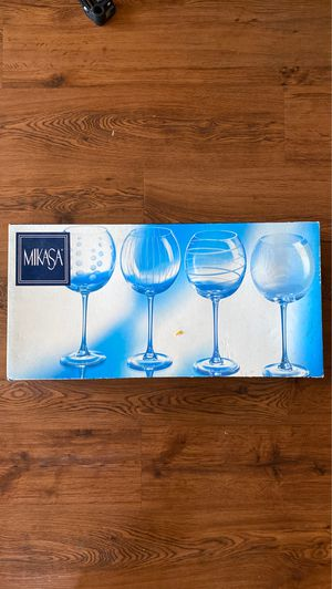 Mikasa® Cheers 24.5 oz. Balloon Goblets (Set of 4) for Sale in Tallahassee, FL