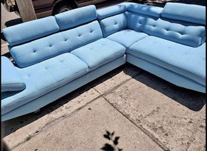 "Multi Piece Sofa set/Lounge 78""W 34""D 34.5""H/ Couch 69""W 34""D 31.5""H for Sale in Brooklyn, NY"