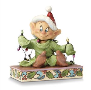 Disney Traditions Dopey With Christmas Lights Figurine for Sale in Kirtland, OH