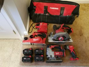 Milwaukee M18 tools & batteries for Sale in PA, US