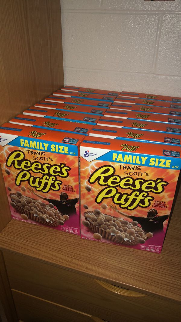 Travis Scott Reese puffs