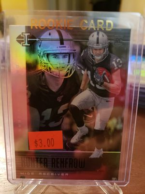 2019 Panini Illusions Football Hunter Renfrow RC for Sale in Mesa, AZ