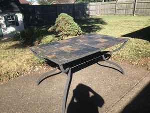Indoor or out table with removable tiles for Sale in Evansville, IN