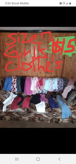 Girls size 7 clothing lot good condition for Sale in Saint Thomas, PA