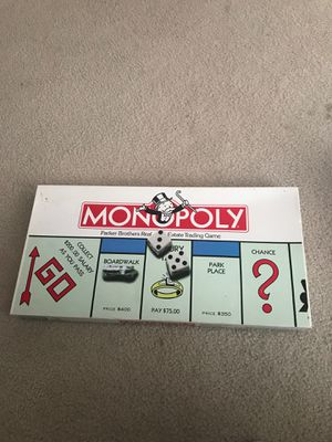 Monopoly Parker Brothers Real Estate Trading Game for Sale in Raleigh, NC
