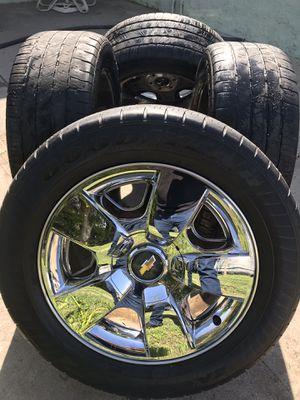 20' P275/55R20 Six Chevy Slug Rim for Sale in Costa Mesa, CA