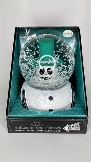 NEW Snowman Jack Windup Musical Snow Swirl Globe for Sale in Montebello, CA