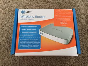 AT&T wireless router with DSL modem for Sale in Chula Vista, CA