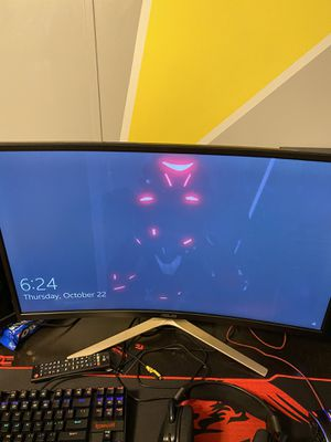31.5 curved eye care gaming monitor for Sale in Frostproof, FL
