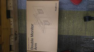 Knoll double monitor arms,for computers or t.v.s for Sale in Phoenix, AZ