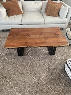 Live Edge Coffee Table for Sale in Herriman, UT