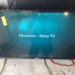 Hisense Smart Flat Screen Tv 40 Inch 4k for Sale in Houston, TX