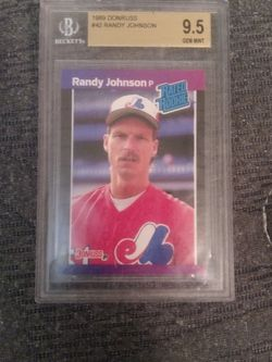 1989 Donruss #42 Randy Johnson for Sale in Yakima,  WA