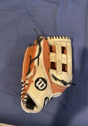 Left handed Wilson a2k 12.75 for Sale in Snohomish, WA
