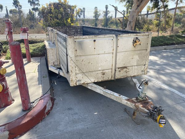 14' Dump Trailer, Utility Trailer Dual Axle