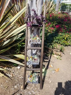 Unique ladder with a touch of succulents for Sale in Chula Vista, CA