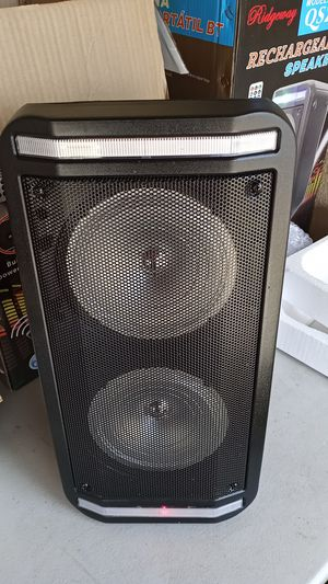 Brand New speaker in the box has Bluetooth fm am great sound base only for 70 bucks brand new in the box for Sale in Phoenix, AZ