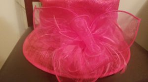 HOT Pink Flower Straw Hat for Sale in Florissant, MO