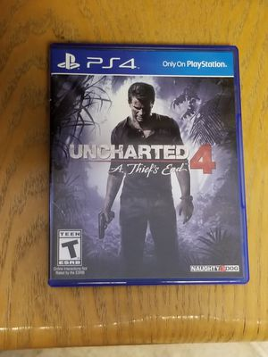 Uncharted 4 PS4 for Sale in Las Vegas, NV