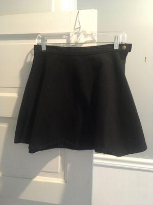 american apparel black denim skater skirt! for Sale in Portland, OR