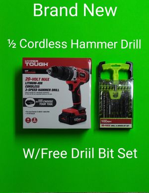 BRAND NEW / ½ HAMMER DRILL / FREE DRILL BIT SET / PRICE IS FIRM / VERY FEW LEFT. for Sale in Phoenix, AZ
