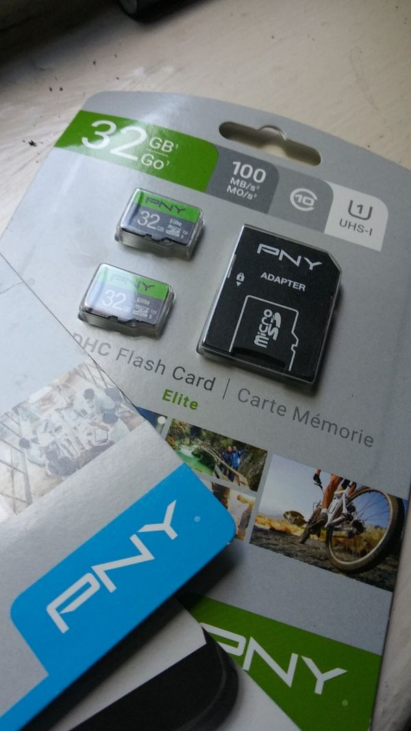 32 GB sd. Cards double pack i have 3 packs of Flash Drives all so for 40$ you can't. Beat that anywhere