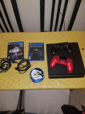 Ps4 (with games) for Sale in Newark, NJ