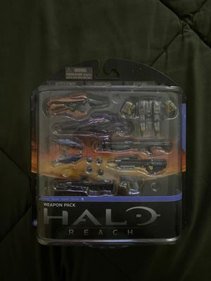 Halo Reach weapons pack rare for Sale in San Antonio, TX