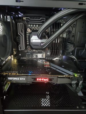 Intel CPU Corsair AIO Cooler MSI Motherboard Combo for Sale in Irvine, CA