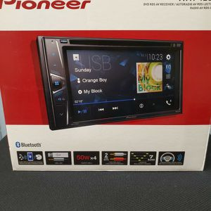 NEW STEREO PIONEER DVD, BLUETOOH, USB,AUX, MULTIMEDIA,TOUCH SCREEN COLOR, BACKUP CAMARA ADAPTER AND MICROPHONE for Sale in Kissimmee, FL