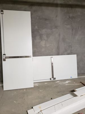 Double Metal fire doors with all the hardware for Sale in Santa Ana, CA
