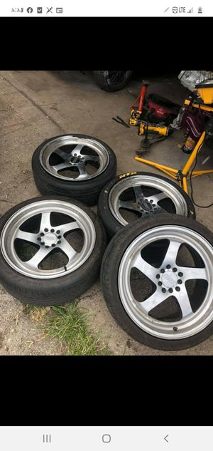Rims for sale 90% tires for Sale in Chicago, IL