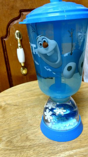 Olaf straw bottle for Sale in McDonough, GA