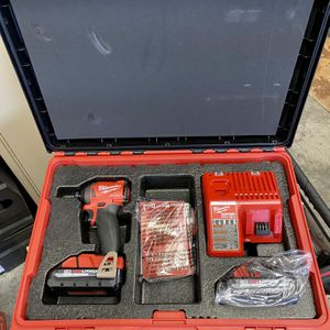 Milwaukee M18 Fuel Impact Drive With Packout Box for Sale in Tacoma, WA