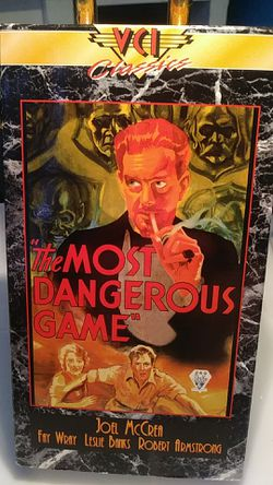 The most dangerous game VHS for Sale in Tracy,  CA